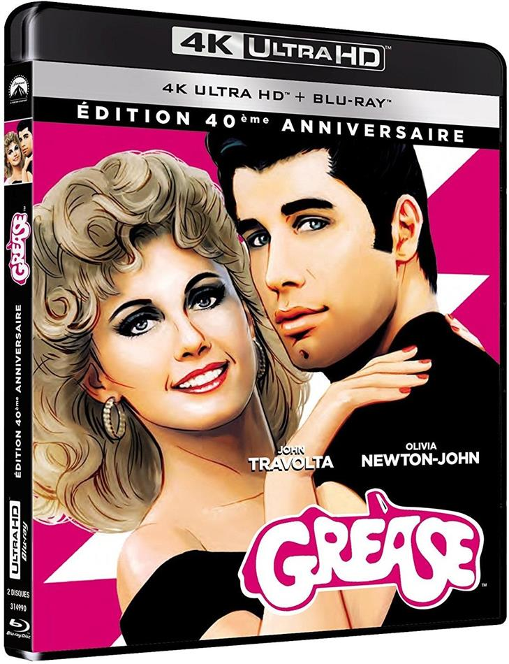 Grease (1978) (40th Anniversary Edition, 4K Ultra HD + Blu-ray)