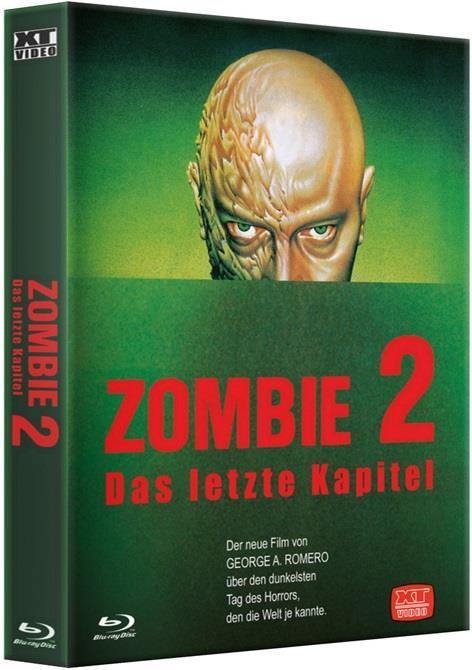 Zombie 2 - Das letzte Kapitel (1985) (HD-Kultbox, Cover A, Limited Edition, Uncut)