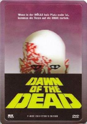 Dawn of the Dead (1978) (Lenticular, Cover B, Collector's Edition, Steelbook, Uncut, 2 DVDs)