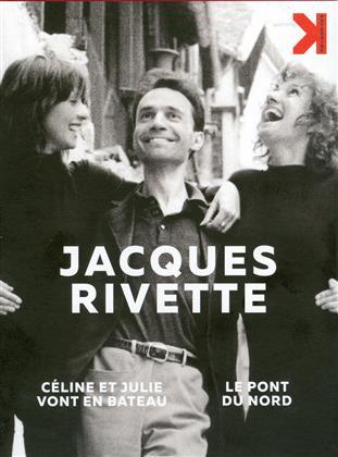 Jacques Rivette - Céline et Julie vont en bateau / Le pont du Nord (4K Mastered, 4 DVDs)