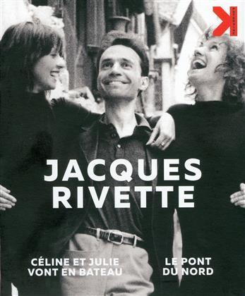 Jacques Rivette - Céline et Julie vont en bateau / Le pont du Nord (4K Mastered, 2 Blu-rays + 2 DVDs)