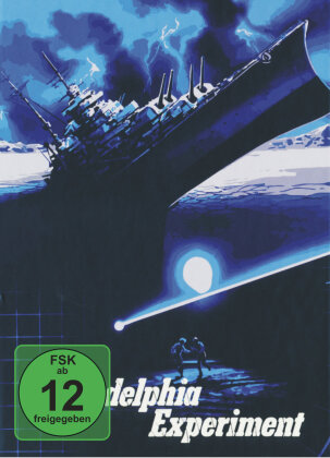Philadelphia Experiment (1984) (Limited Edition, Mediabook, Uncut, Blu-ray + DVD)