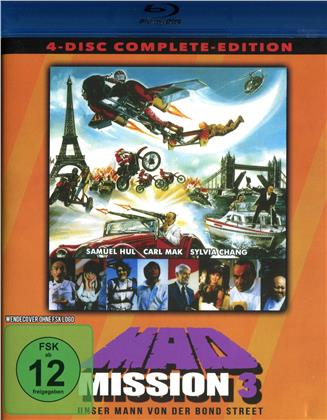 Mad Mission 3 - Unser Mann in der Bond Street (1984) (Complete Edition, 2 Blu-rays + 2 DVDs)