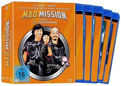 Mad Mission 1-5 - The Complete Edition (9 Blu-rays + 9 DVDs)