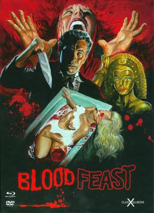 Blood Feast (1963) (Class-X-Illusions, Digibook, Edizione Limitata, Blu-ray + DVD)