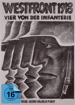 Westfront 1918 - Vier von der Infanterie (1930) (s/w, Limited Edition, Mediabook, Blu-ray + DVD)