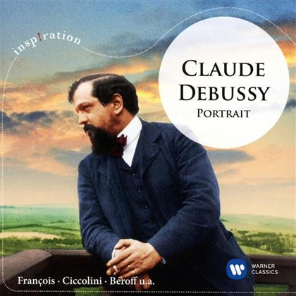 Aldo Ciccolini, Samson Francois, Andre Cluytens & Claude Debussy (1862-1918) - Portrait