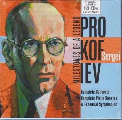 Serge Prokofieff (1891-1953) - Milestones Of A Legend (10 CDs)