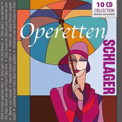 Operetten-Schlager (10 CDs)