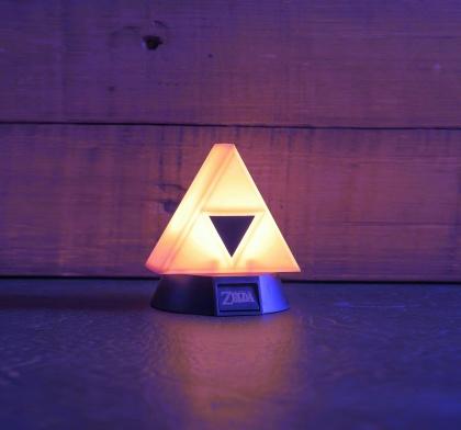 Legend of Zelda: Triforce - 3D Lampe