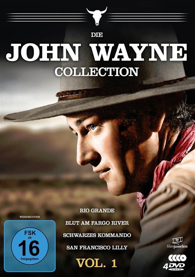 Die John Wayne Collection - Vol. 1 (Filmjuwelen, 4 DVD)
