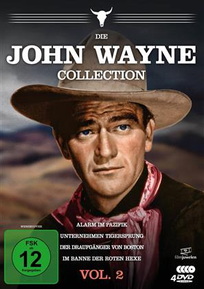Die John Wayne Collection - Vol. 2 (Filmjuwelen, 4 DVD)