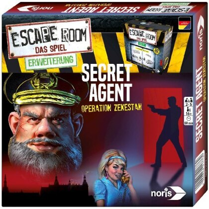 Escape Room Secret Agent Erweiterung