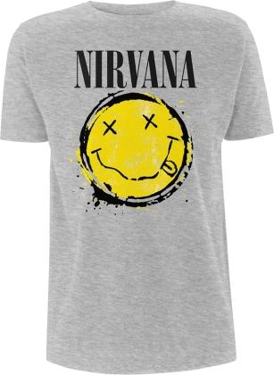 Nirvana - Smiley Splat