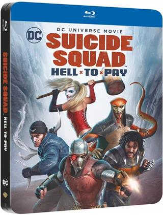 Suicide Squad - Hell to pay (2018) (Limited Edition, Steelbook)