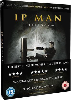 IP Man Trilogy (Steelbook) (Steelbook, 3 Blu-ray)