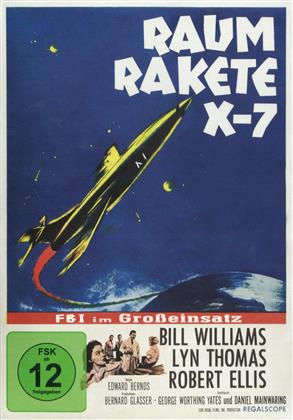 Raumrakete X-7 - FBI im Grosseinsatz (1958) (s/w, Limited Edition)