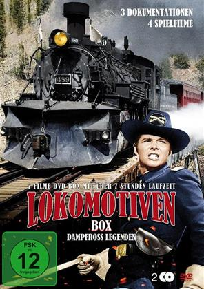 Lokomotiven Box - Dampfross Legenden (2 DVDs)