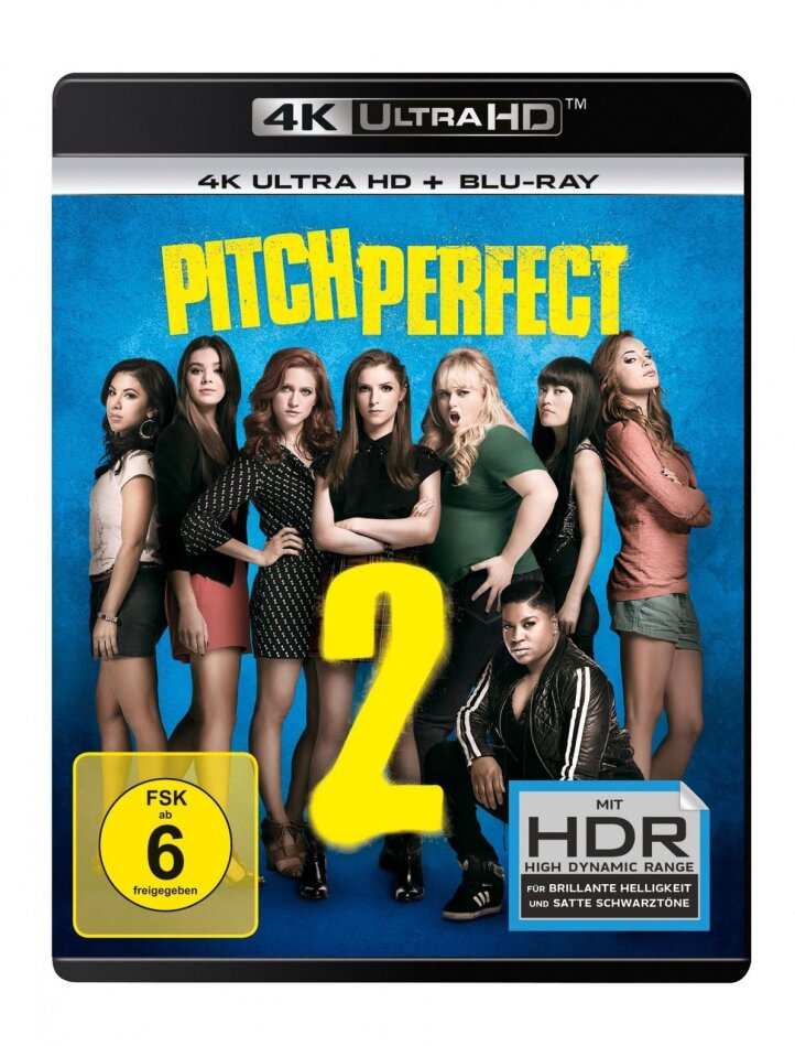 Pitch Perfect 2 (2015) (4K Ultra HD + Blu-ray)