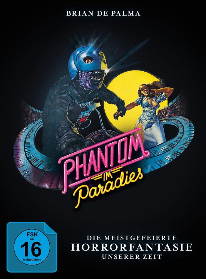 Phantom im Paradies (1974) (Cover B, Limited Edition, Mediabook, Blu-ray + 2 DVDs)