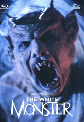The White Monster (1988) (Cover B, Limited Edition, Mediabook, Uncut, Blu-ray + DVD)