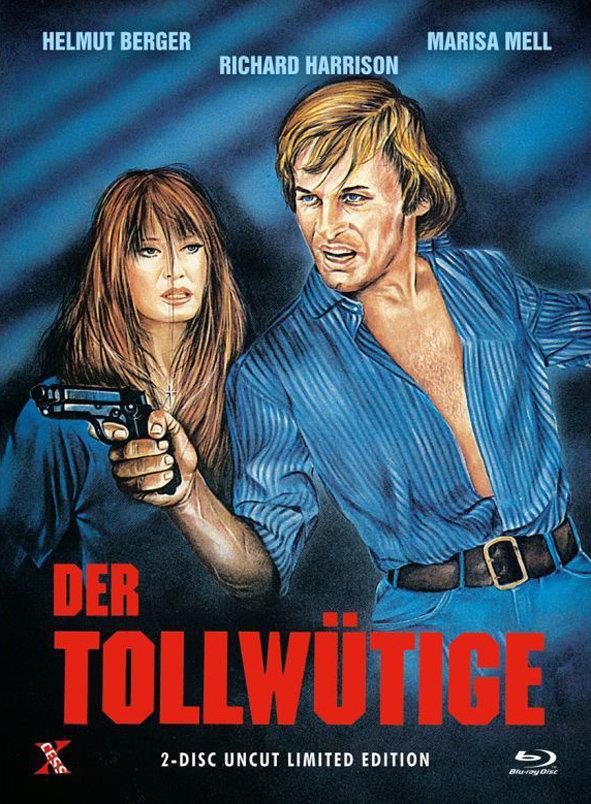 Der Tollwütige (1977) (Cover A, Edizione Limitata, Mediabook, Uncut, Blu-ray + DVD)