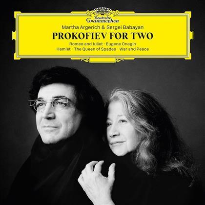 Serge Prokofieff (1891-1953), Martha Argerich & Sergei Babayan - Prokofiev For Two (Japan Edition)