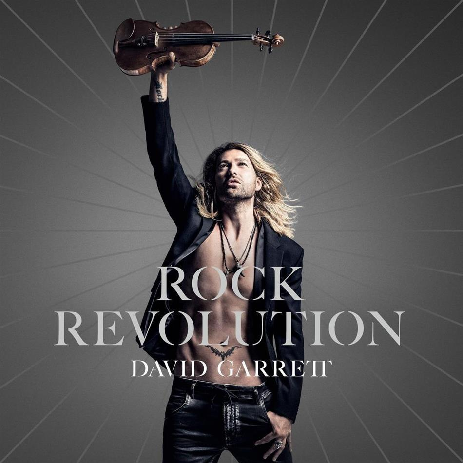 David Garrett - Rock Revolution (1 Bonustrack, Japan Edition, CD + DVD)