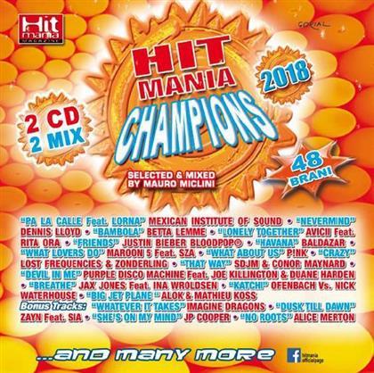 Hit Mania Champions 2018 (2 CDs)