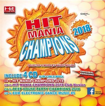 Hit Mania Champions 2018 (4 CDs)