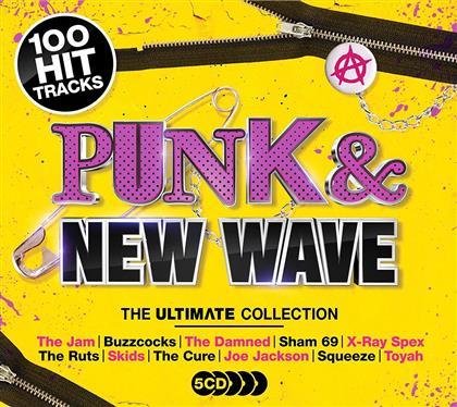 Punk & New Wave - Ultimate Collection (5 CDs)