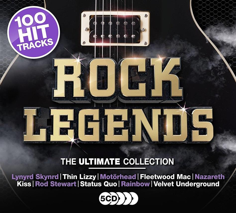 Rock Legends - Ultimate Collection (5 CDs)