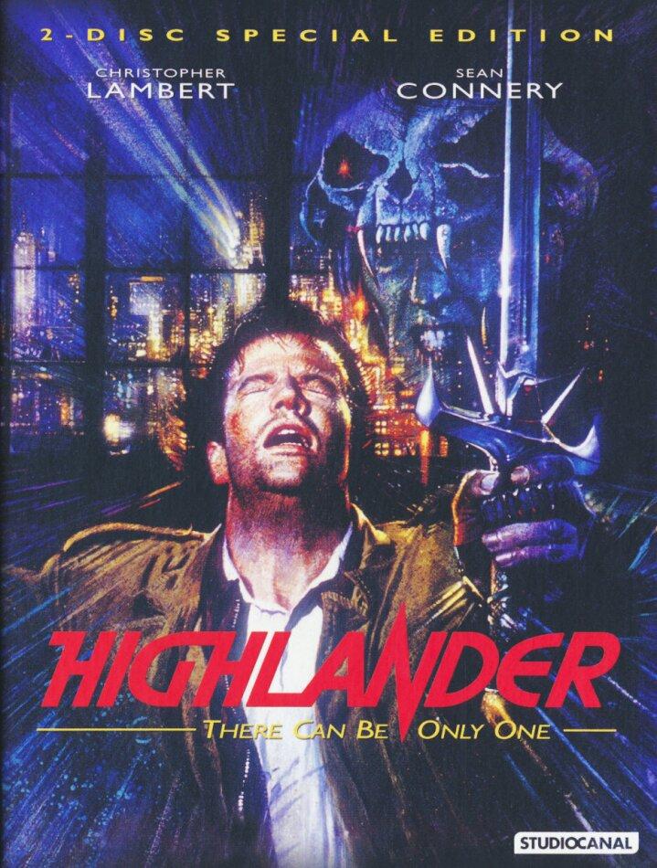Highlander (1986) (30th Anniversary Edition, Limited Edition, Mediabook, Special Edition, Uncut, Blu-ray + DVD)
