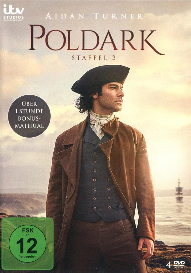 Poldark - Staffel 2 (4 DVDs)