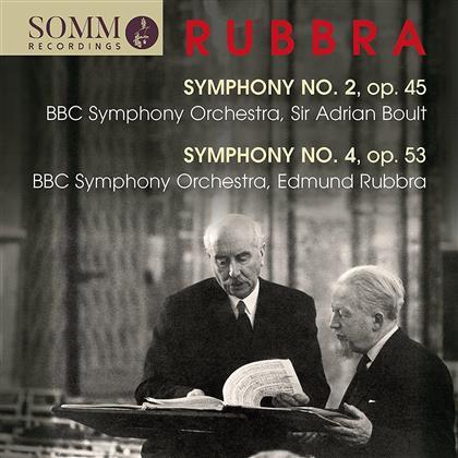 Edmund Rubbra (1901-1986), Sir Adrian Boult & BBC Symphony Orchestra - Symphony 2 / Symphony 4