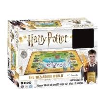 Harry Potter: 4D Hogwarts - Puzzle