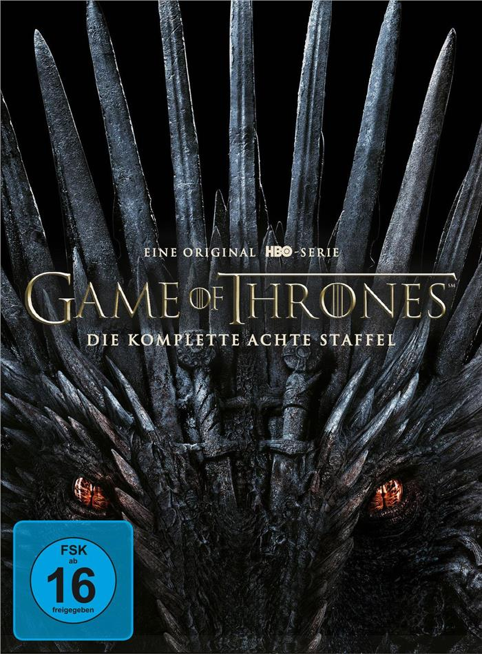 Game of Thrones - Staffel 8 (4 DVDs)