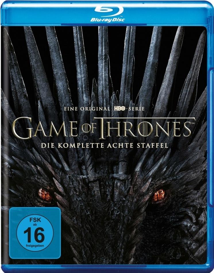 Game of Thrones - Staffel 8 (3 Blu-rays)