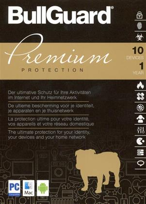 BullGuard Premium Protection [10 Devices 1 Year]