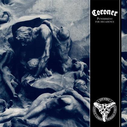 Coroner - Punishment For Decadence (2018 Reissue, LP)