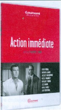 Action immédiate (1957) (Collection Gaumont Découverte, s/w)