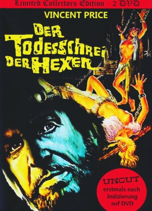 Der Todesschrei der Hexen (1970) (Collector's Edition, Limited Edition, Mediabook, Uncut, 2 DVDs)