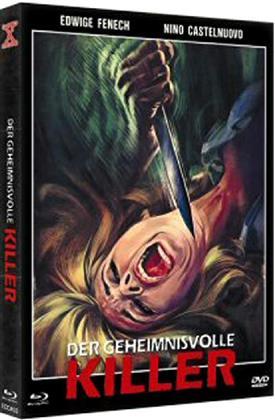 Der geheimnisvolle Killer (1975) (Cover B, Eurocult Collection, Limited Edition, Mediabook, Uncut, Blu-ray + DVD)
