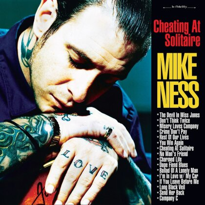 Mike Ness (Social Distortion) - Cheating At Solitaire (2 LPs)