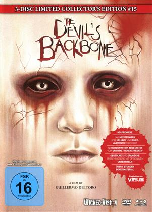 The Devil's Backbone (2001) (Cover B, Collector's Edition, Limited Edition, Mediabook, Uncut, Blu-ray + 2 DVDs)