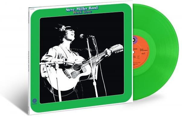 Steve Miller - Rock Love (2019 Reissue, Limited Edition, Remastered, Transparent Green Vinyl, LP)
