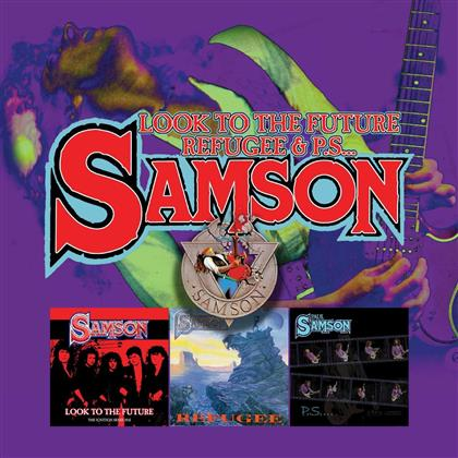 Samson - Look To The Future / Refugee (3 CDs)