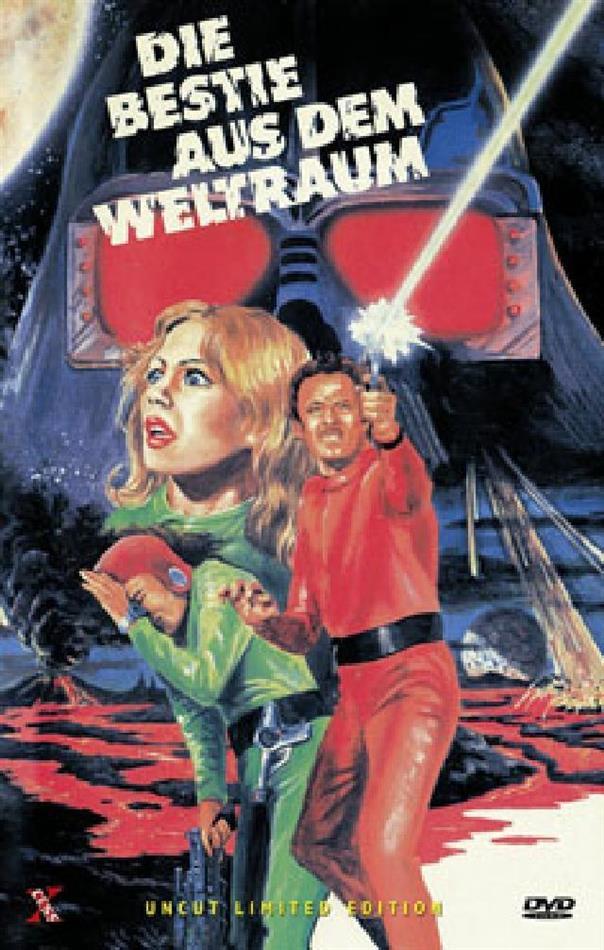 Die Bestie aus dem Weltraum (1980) (Grosse Hartbox, Cover B, Limited Edition, Uncut, Unrated)