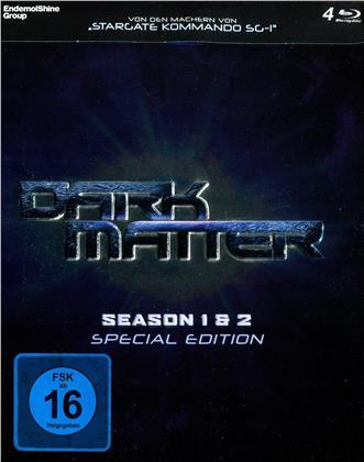 Dark Matter - Staffel 1 & 2 (Limited Edition, Special Edition, Steelbox, 4 Blu-rays)