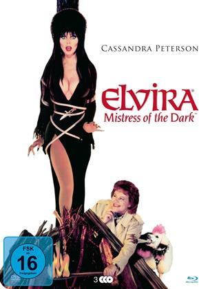 Elvira - Mistress of the Dark (1988) (Metallbox, 2 Blu-rays + DVD)